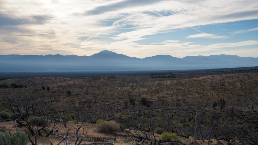 Nevada elk hunting scenery