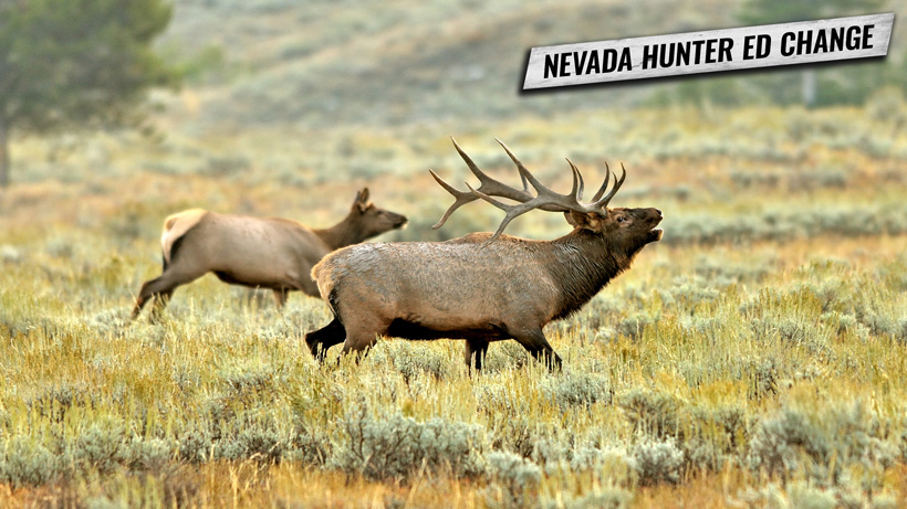 Nevada hunter education class changes