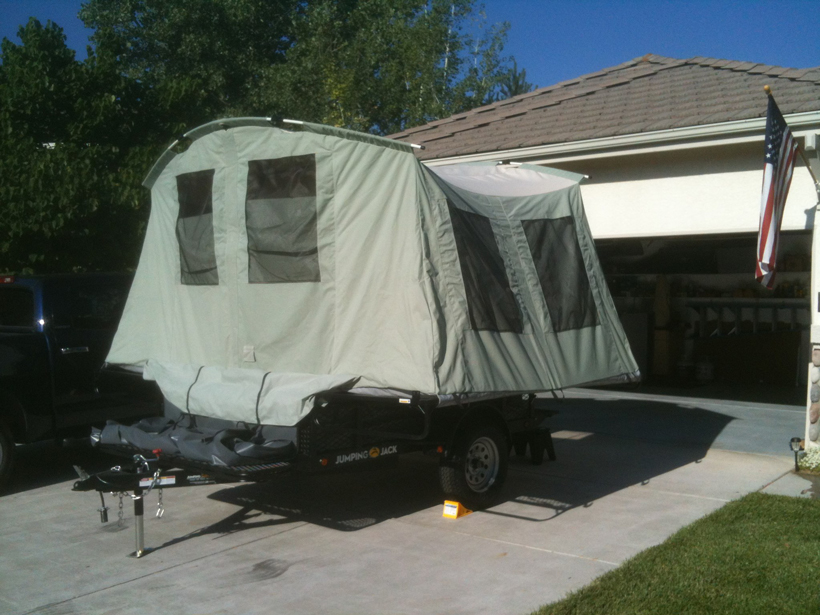 New Jumping Jack tent trailer