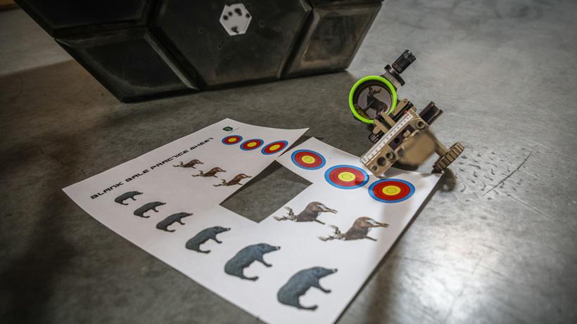 NockOn blank bale paper targets