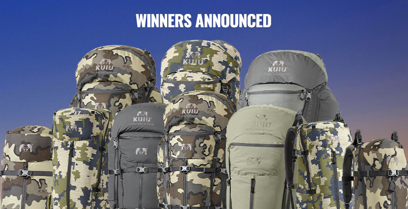 November INSIDER KUIU backpack winners