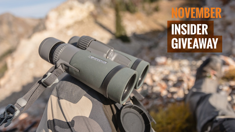 November Vortex Razor HD Binocular Giveaway