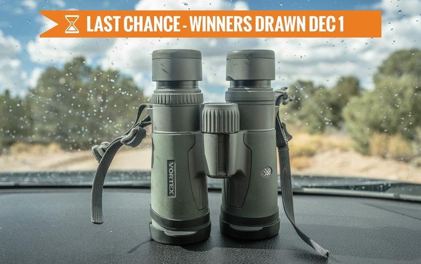 November Vortex Binocular giveaway last chance