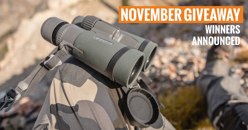November Vortex Binocular winners
