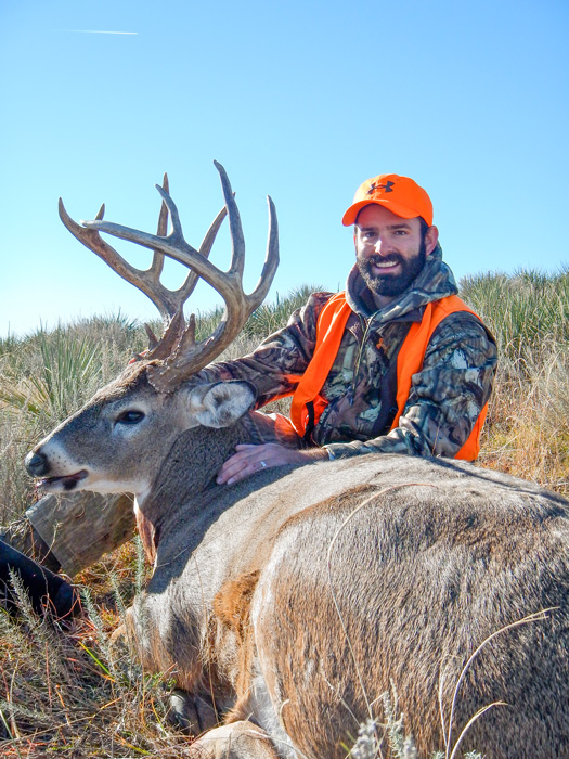 October whitetail hunting success
