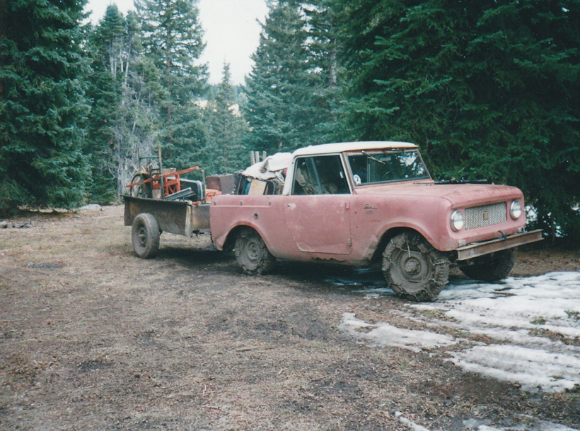 Old family hunting truck