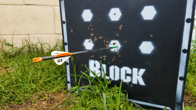 One arrow archery practice routine