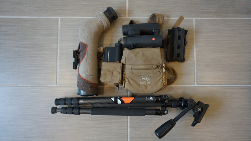 Optic setup for backcountry elk bowhunting