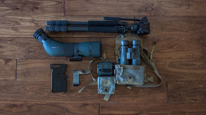 Optic system for mule deer hunt