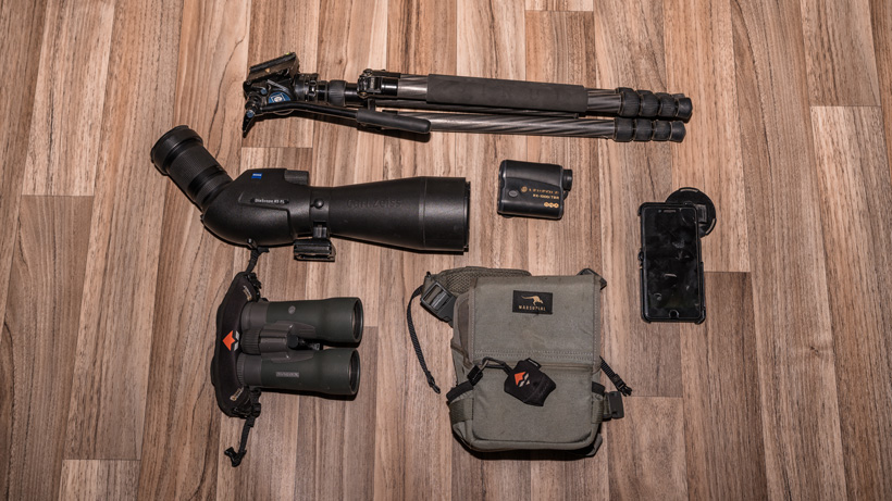 Optics for a backcountry mule deer hunt