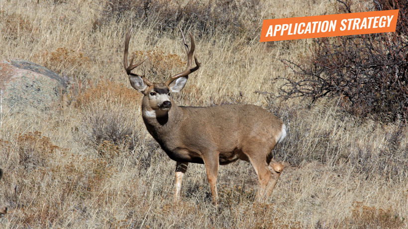 Oregon 2018 deer application strategy article