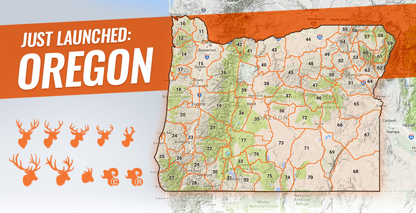 Oregon hunting research launch on goHUNT INSIDER