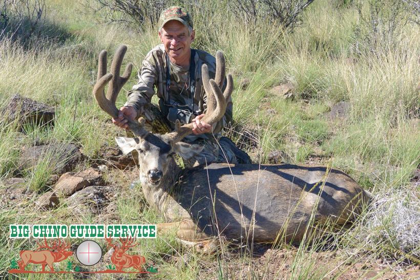 Over-the-counter velvet mule deer