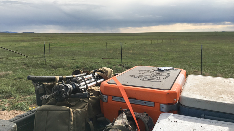 Packed up after a successful antelope hunt