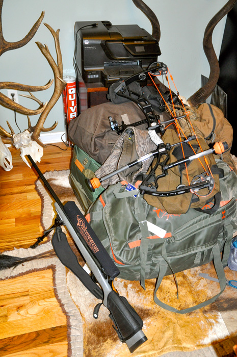 Packing for an extended hunting trip