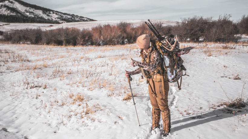 Load it Up: Extending your hunt in the backcountry by utilizing a meat shelf
