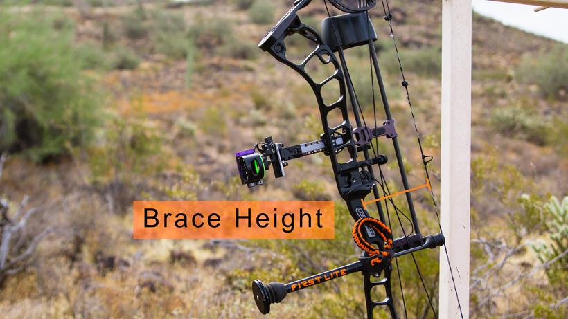 Brace height