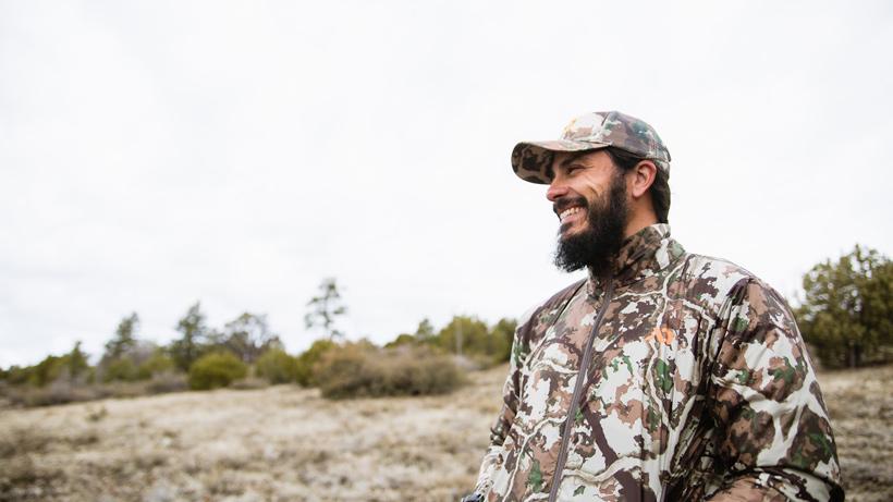 Enjoying a fun bear hunt