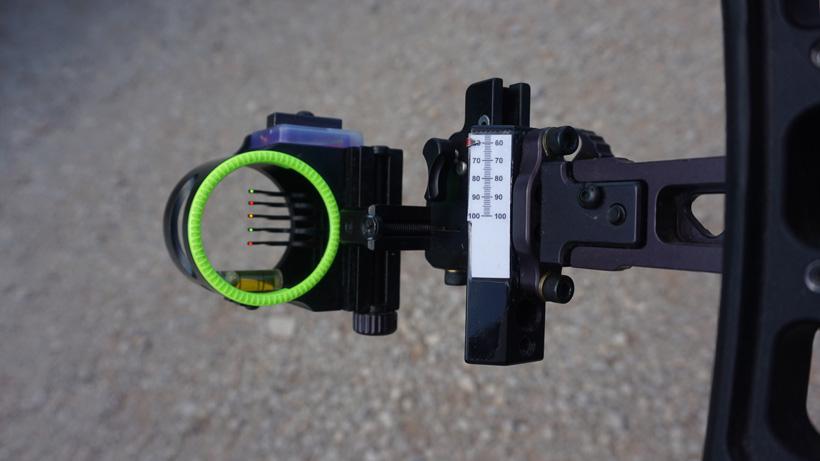 Pin size on a bowsight
