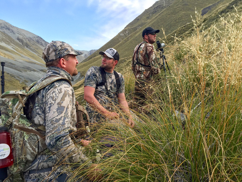 Planning a tahr stalk in New Zealand