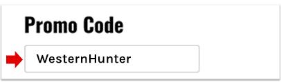 Promo code WesternHunter for KUIU gear