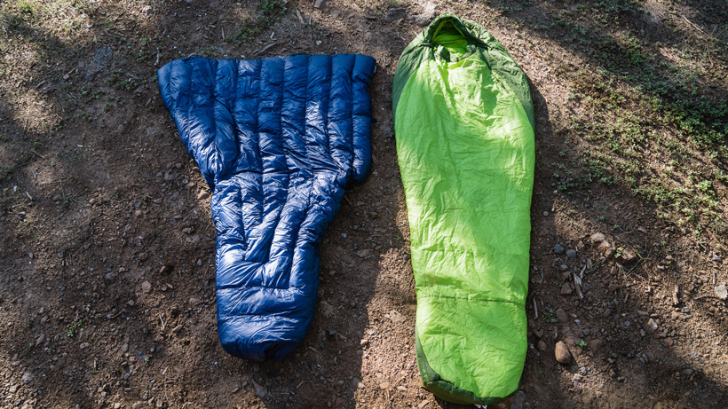 Quilt versus sleeping bag for hunting