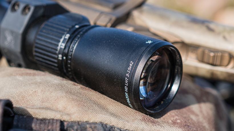 Razor HD glass in the new riflescope