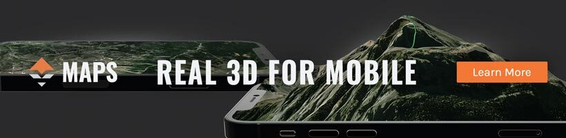 REAL 3D goHUNT Maps