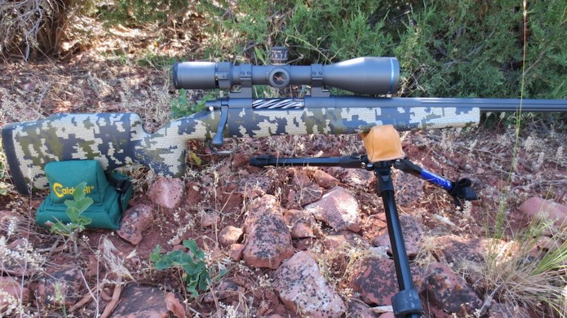 Red Rock Precision rifle