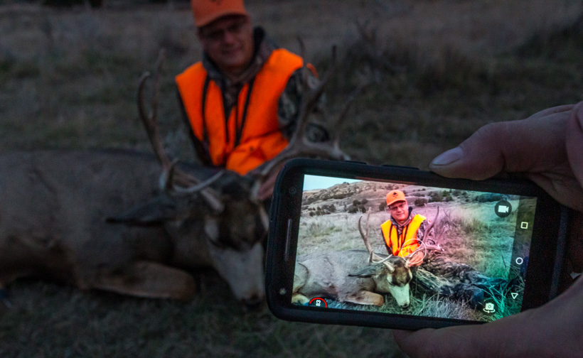 Remember the hunt using cell phone photos
