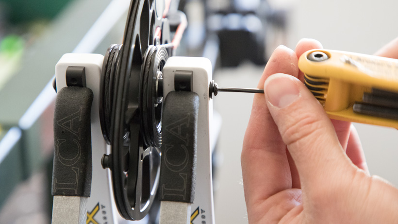 How to tune a Mathews bow with top hat shims | goHUNT