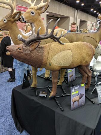 Rhinehart woodlands third size archery elk target