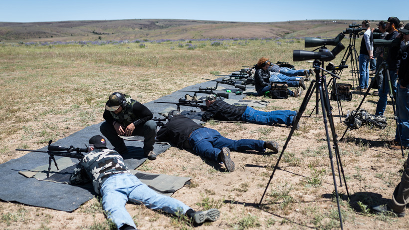 Rifle shooting school fixing form