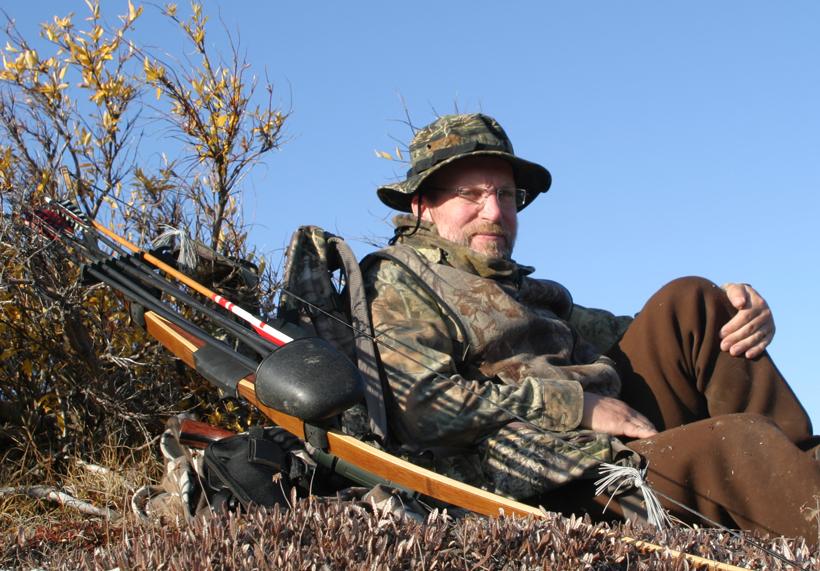 Rob hunting in Alaska