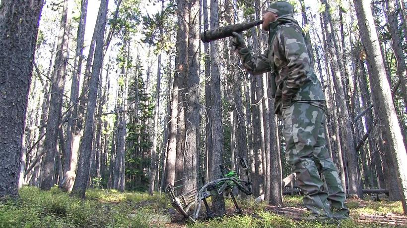 Ron Elmer bugling for elk