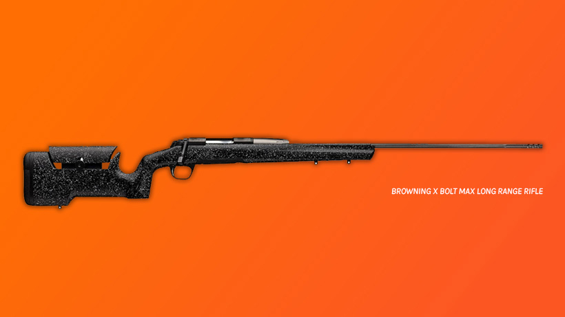 Runner up prize Browning X-bolt rifle