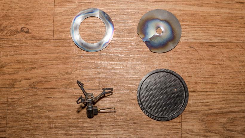 Ruta Locura custom Jetboil stove kit for hunting
