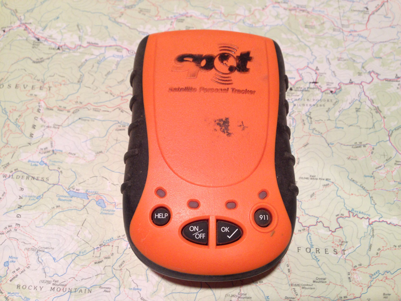 Safety in the backcountry with a SPOT messenger