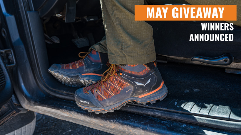 Salewa Mountain Trainer Lite Mid GTX boot winners announced