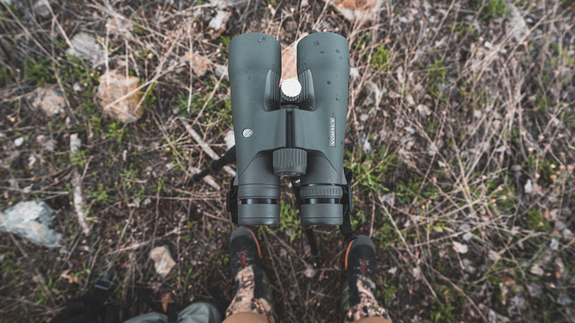 Scouting with Vortex Razor UHD 10x50 binoculars