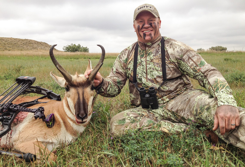 Sean Evenson with his 2013 Wyoming antelope buck