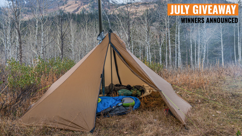 Seek Outside Cimarron giveaway winners