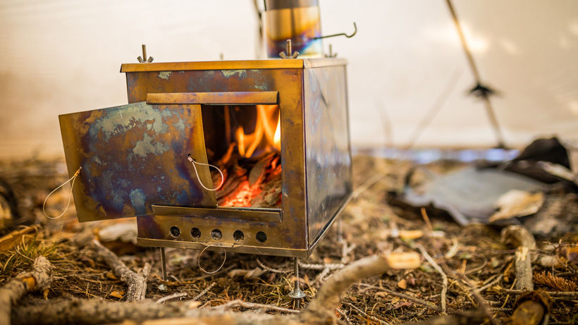Seek Outside medium titanium stove