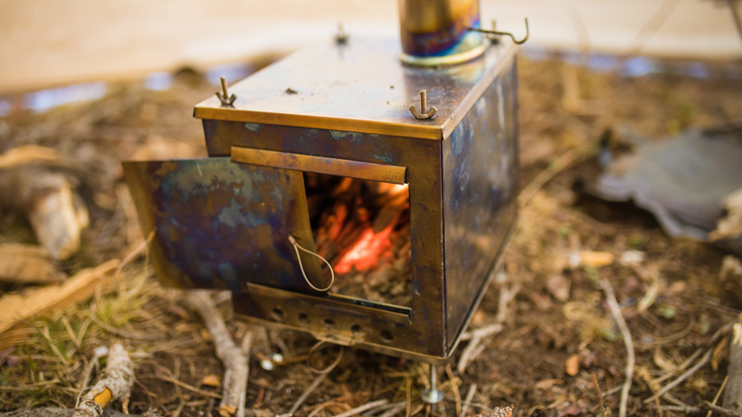Seek Outside titanium stove