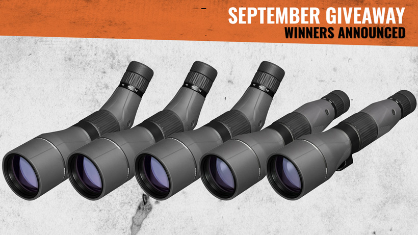 September Giveaway Winners Announced!