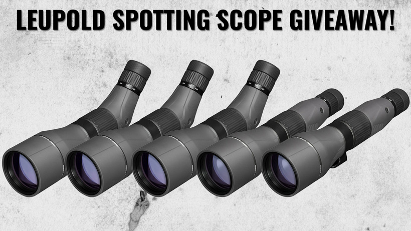 September Leupold Spotting Scope Giveaway