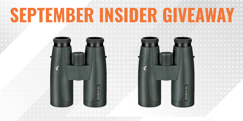 September Swarovski 10x42 SLC binocular giveaway