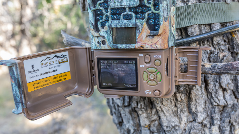 Setting up a Browning Recon Force trail camera