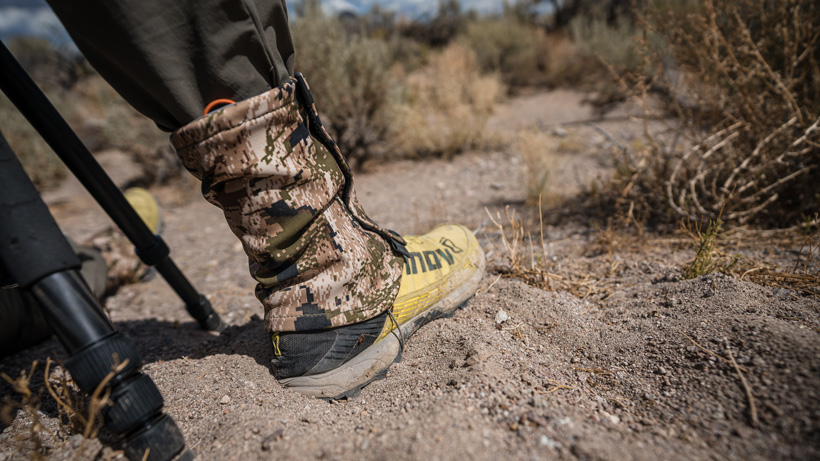Short gaiters for summer hunts