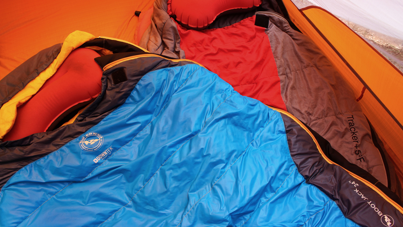 Sleeping system for the backcountry